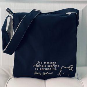 Hello Kitty Canvas Messenger Bag